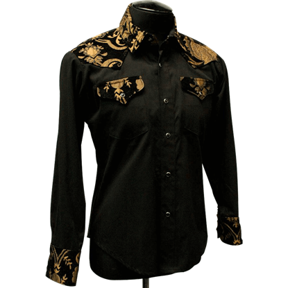 Gothic Tapestry Cowboy Shirt