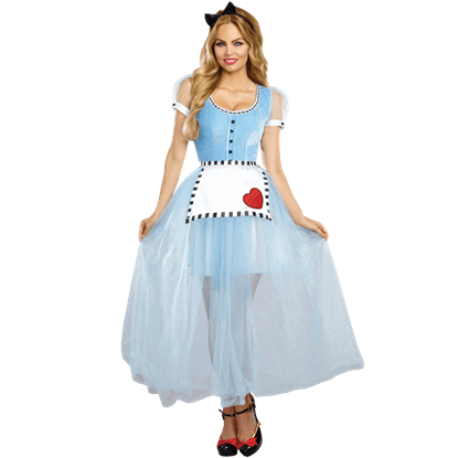 Alice Womens Costume