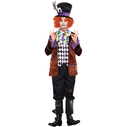 Hatter Madness Mens Costume