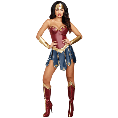 Amazing Amazon Womens Costume