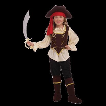Buccaneer Girl's Costume