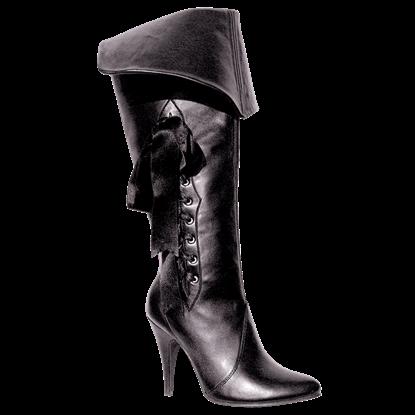 Cuffed Pirate Boots