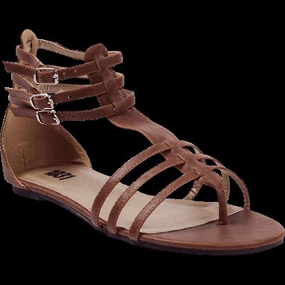 Womens Gladiator Flat Sandals