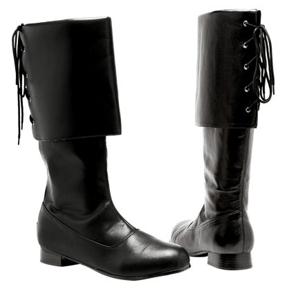 Mens Captain Sparrow Boots