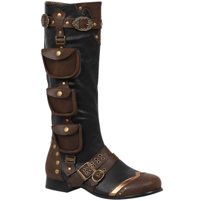 Steampunk Excursion Boots