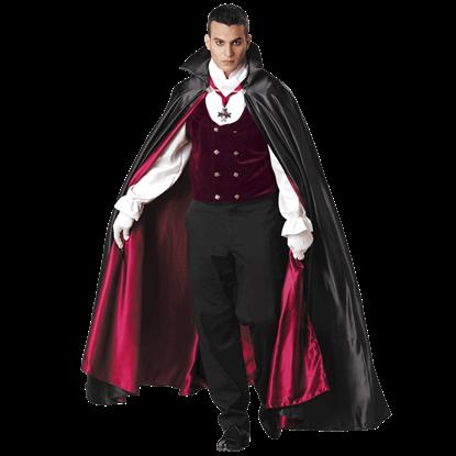 Gothic Vampire Men's Costume