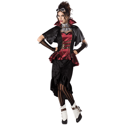 Steampunk Vampiress Women's Costume