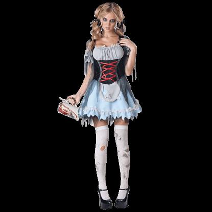Zombie Beer Maiden Costume