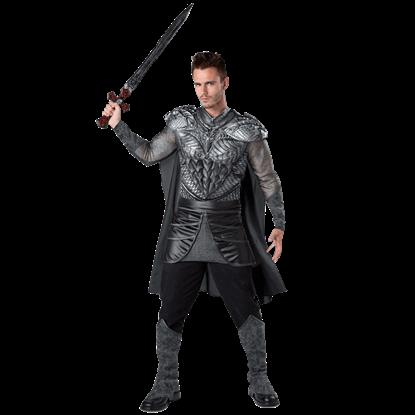 Dark Medieval Knight Adult Costume