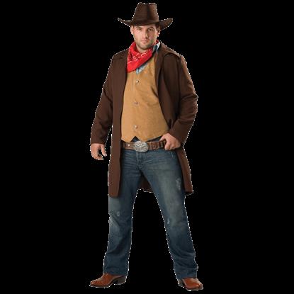 Rawhide Renegade Men's Plus Size Costume