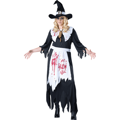 Womens Salem Witch Plus Size Costume
