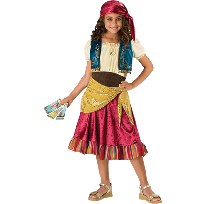 Gypsy Girl's Costume
