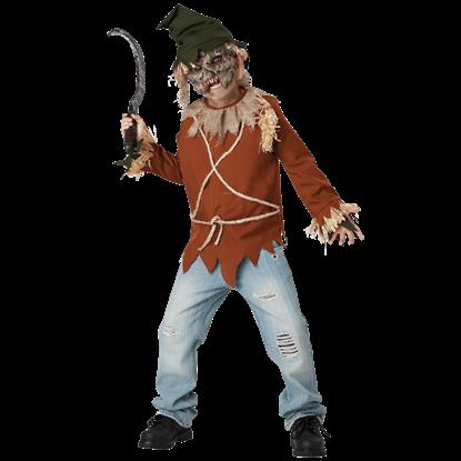 Boys Psycho Scarecrow Costume