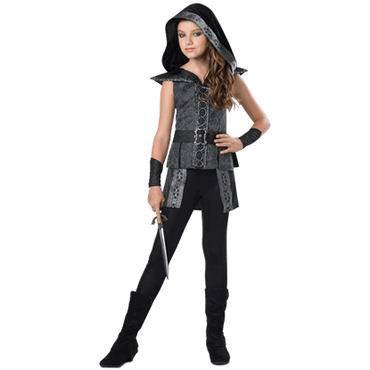 Dark Woods Huntress Tween Costume