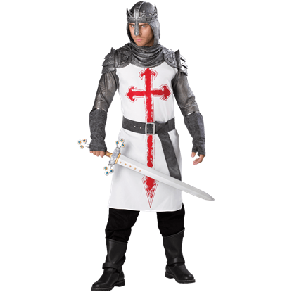 Crusader Men's Costume