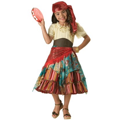 Fortune Teller Girl's Costume