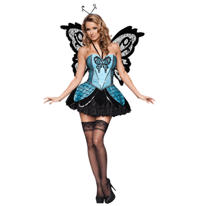 Beautiful Butterfly Womens Costume