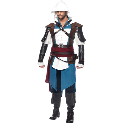 Mens Assassins Creed Edward Costume