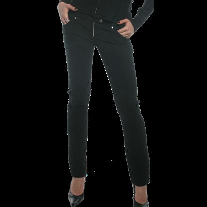 Ladys Bootcut Goth-Punk Pants
