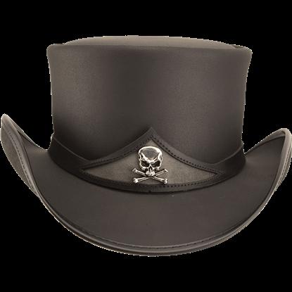 Gothic Pale Rider Top Hat