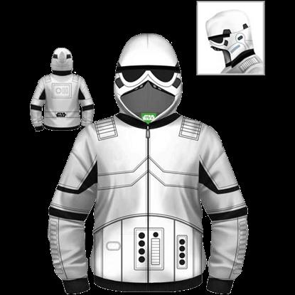 Junior Stormtrooper Armor Hoodie