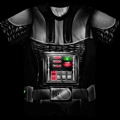 Darth Vader Suit Wraparound T-Shirt