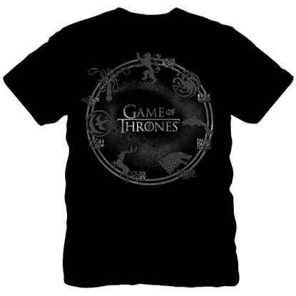 House Sigil Game of Thrones T-Shirt