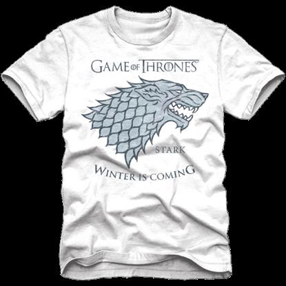 House Stark White Game of Thrones T-Shirt