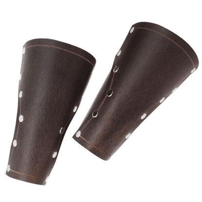 Baudouin Leather Bracers