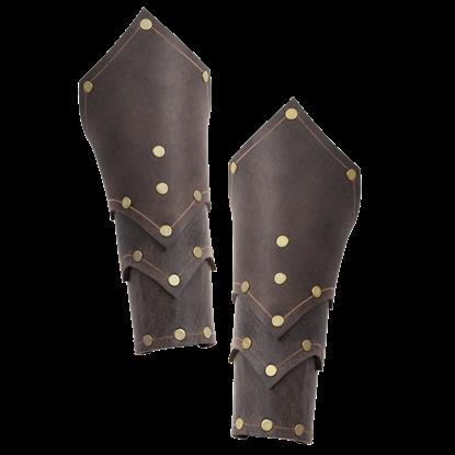 Behan Leather Bracers