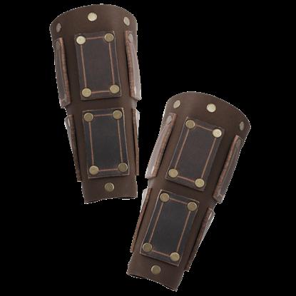 Bohemond Leather Bracers