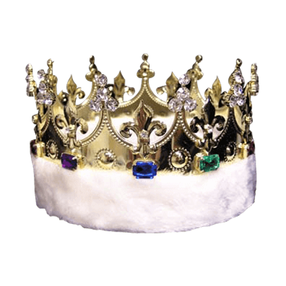 Kings Crown with Faux Fur