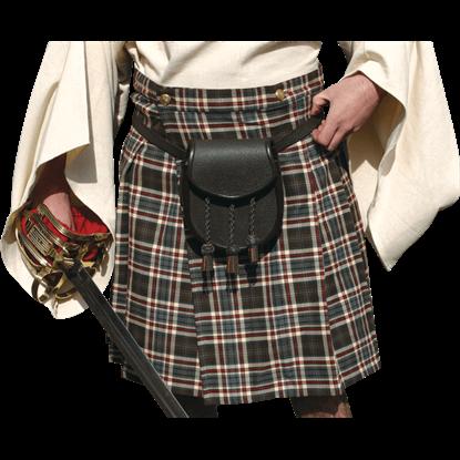 Scottish Mans Wool Kilt