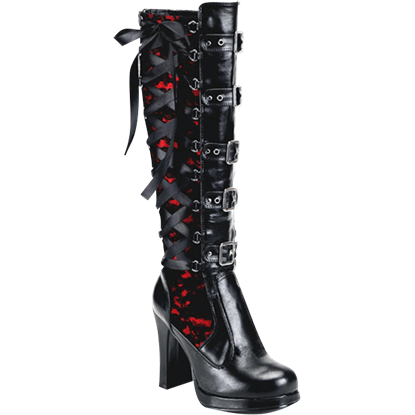 Black Widow Gothic Boots