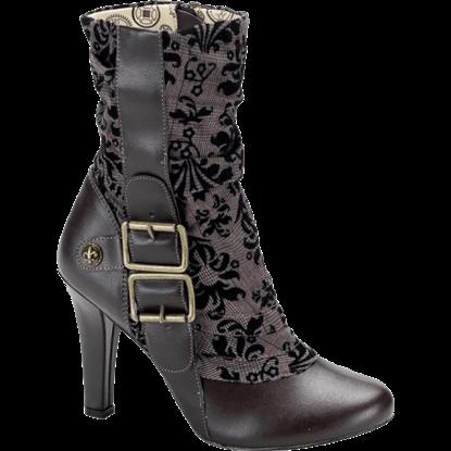 Elegant Steampunk Boots
