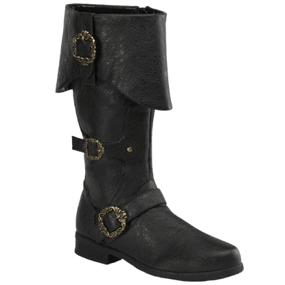 Men's Ornate Captain Boots