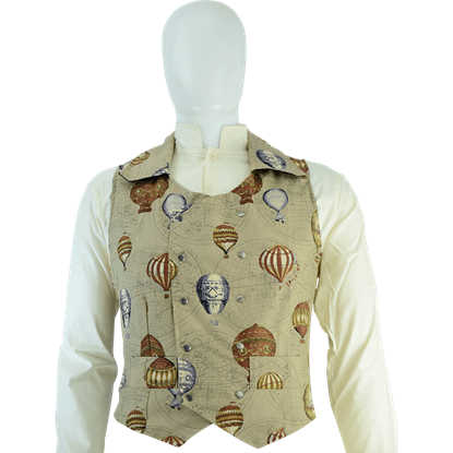 Balloon Double-Breasted Waistcoat