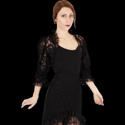 Gothic Lace Bolero