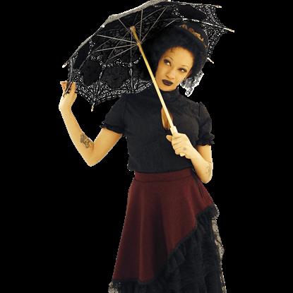 Steampunk Lace Parasol