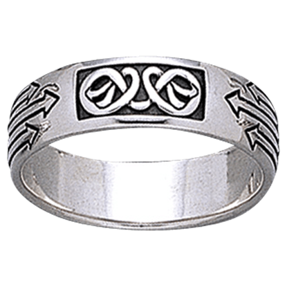 Celtic Arrow Knotwork Ring
