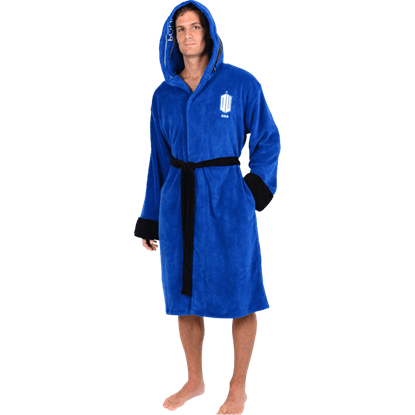 Doctor Who Police Box Robe