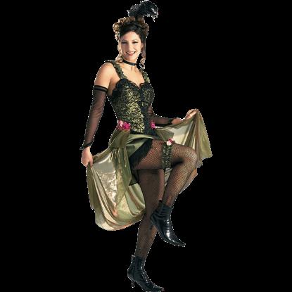 Womens Saloon Girl Costume