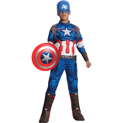 Boys Age of Ultron Deluxe Captain America Costume