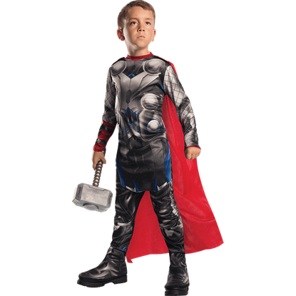 Boys Age of Ultron Thor Costume