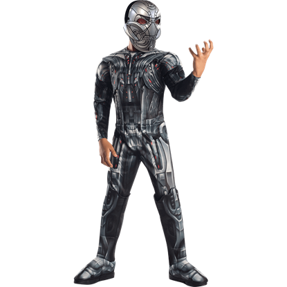 Boys Age of Ultron Deluxe Ultron Costume