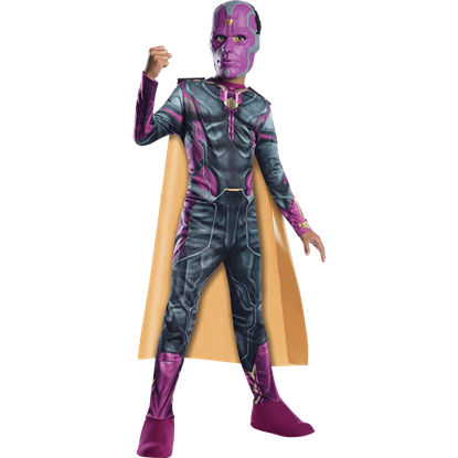 Boys Age of Ultron Vision Costume