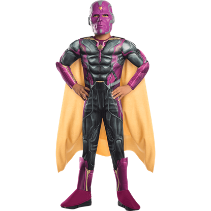 Boys Age of Ultron Deluxe Vision Costume