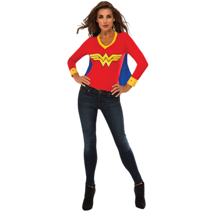 Adult Wonder Woman Sporty T-Shirt