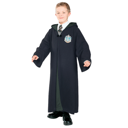 Child's Deluxe Slytherin Robe from Harry Potter