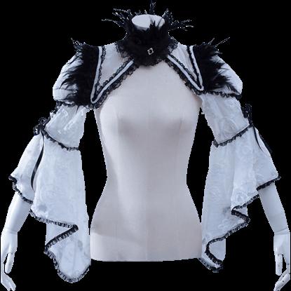 Gothic Bell Sleeve Shrug